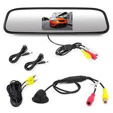 Commercial Grade, Waterproof Backup Camera, and Monitor System w/Distance Scale.