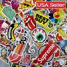 Random Skateboard Stickers Vinyl Laptop Luggage Decals Dope Sticker Lot Mix