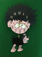 More details for beano clock - dennis the menace and gnasher