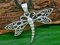 Libelle Anhänger Silber 925 Schmetterling dragonfly