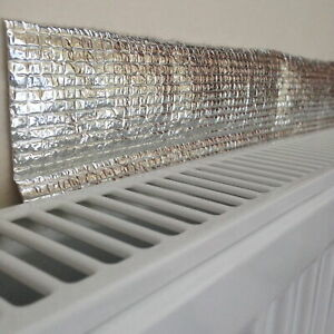 0.6m x 5m Yuzet Radiator Insulation Foil Reflector Roll DIY panels Bulk Roll