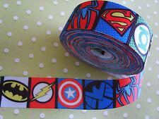 1 M Vengadores Marvel Super Heroes Chicos superhéroe pastel de arco 25 mm cinta del grosgrain