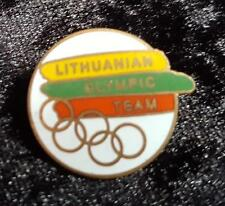 SCARCE NOC LITHUANIAN OLYMPIC TEAM SYDNEY 2000 PIN -  OLYMPIC GAMES PIN