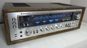 KENWOOD MODEL ELEVEN  WORKS PERFECT SERVICED FULLY RECAPPED +LED's UPGRADE +BOX
