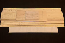 "Large Scale AIRBUS A-400M Laser Cut Short Kit & Plans 76"" WS Electric Power"