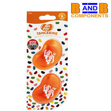 Jelly Belly Duo Vent Two Pack TANGERINE 3D Car Air Freshener A1533