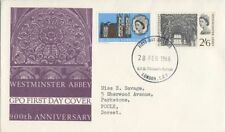 Architecture Used Great Britain First Day Covers (1953-1970)