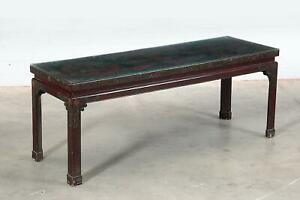 Early 20th Century Chinese Chinoiserie Chic Hand Painted Coffee Low Table