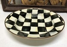 MACKENZIE-CHILDS Courtly Check Low Bowl - Not Used