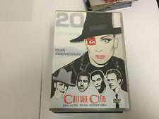 CULTURE CLUB - 20 YEAR ANNIVERSARY - LIVE ROYAL ALBERT HALL MUSIC DVD MINT