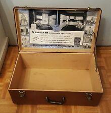 Vintage Wear-Ever Salesman Sample Case Suitcase WearEver