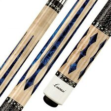 Lucasi Custom LZ2004NB Pool Cue Stick + Zero Flex Low Deflect Shaft + FREE CASE