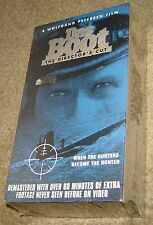 DAS BOOT THE DIRECTOR'S CUT TWO TAPE VHS, NEW & SEALED, A WOLFGANG PETERSEN FILM