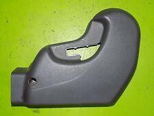 91-99 3000GT Stealth driver left seat tilt side cover panel trim OEM black