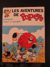 BD Popeye - Faut y Aller