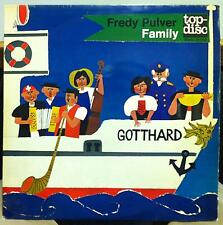 The Freddy Pulver Family - Gotthard Night Boat LP VG+ 80055 Top-Disc Swizerland