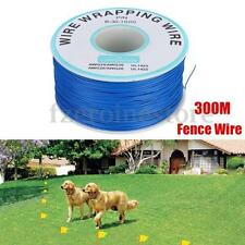 300M Wire Cable for Pet Fence Dog Pet Under ground Electric Shock training NEW