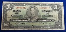 1937 Canadian 1 Dollar Bill  ID #32-15