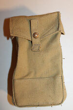 WW2 CANADIAN ARMY KHAKI CANVAS AMMO/GRENADE POUCH