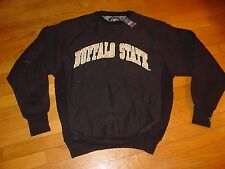 BUFFALO STATE BENGALS  Heavy Duty EMBROIDERED  Sweatshirt  NEW sz....  MEDIUM