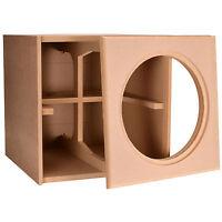 Knock-Down MDF 3.0 ft³ Subwoofer Cabinet for Da