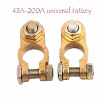 Positive Clips Terminal Connector Pile Head Pure Copper Car Battery Clamp