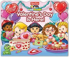 Fisher-Price Little People: Valentines Day Is Here! (Lift-the-Flap) by Fisher-P