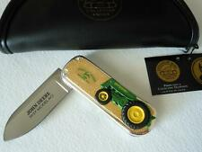 New Franklin Mint John Deere Model Ao 1937 Tractor Collector Knife New In Box