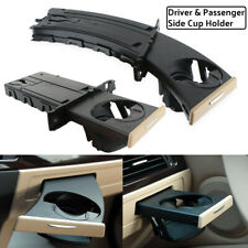 For BMW E90 E91 E92 E93 Left Driver+Right Passenger Retractable Cup Holder Beige