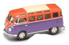 VW T1 Microbus orang + Vitrine, Yat Ming Modèle 1:43