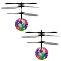 2x Sensor Infrarot Helicopter LED Ball Fliegender Hubschrauber Kugel Helikopter