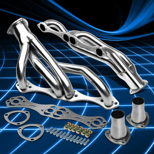 For Chevy SBC Small Block A/F/G Body Stainless Clipster Header Manifold Exhaust