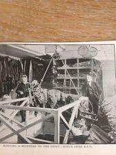 52801 Ephemera 1895 Picture L P O Lost Property Office Kings King's Cross