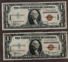 #2 1935A Hawaii $1.00 WWII Notes, Fine