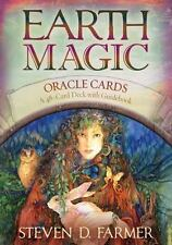 Earth Magic by Steven D. Farmer (Cards,Flash Cards)