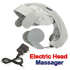 Electric Head Massager Brain Massage Relax Easy Acupuncture Points Gray Fashion