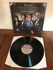 TAKACS QUARTET haydn string quartets op 76 1-3 LP EX 421 360-1, vinyl LP