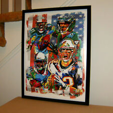 Super Bowl Lii, Patriots, Eagles, Tom Brady, Nick Foles, Football, 18x24 Poster2