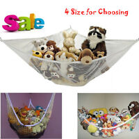 Jumbo Kids Toy Hammock Net Hanging Corner Storage Animals Stuffed Toys Organizer