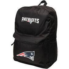NEW ENGLAND PATRIOTS NFL TEAM SPRINT BLACK 18'' BACKPACK BAG