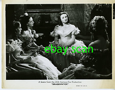 "GENE TIERNEY Vintage Original Photo 1946 ""DRAGONWYCK"" Movie Still"