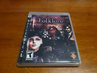 Folklore (Sony PlayStation 3, 2007) PS3 CIB Complete TESTED Fast Shipping