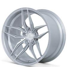 (4) 21x10.5 Ferrada Wheels F8-FR5 Silver Machined Rims(S1)