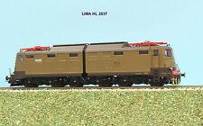 LIMA EXPERT HL 2637  locomotiva E 645-101 castano isabella  dep. Milano ep. IV