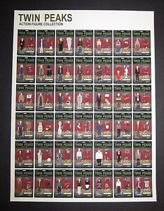 Twin Peaks Print Poster Action Figures Collection Limited Edition Max Dalton