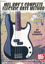 Roger Filiberto - Lel Bay's Complete Electric Bass Method + CD