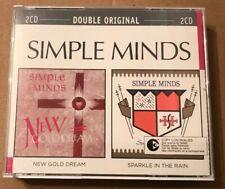 Simple Minds - New Gold Dream / Sparkle In The Rain 2x Cd Set 2003 Jim Kerr