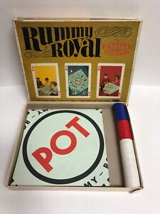 Vintage 1965 Rummy Royal Family Card Game Set by Whitman 4804 NO Cards