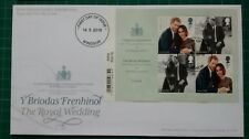 2018 The Royal Wedding Barcode M/S Royal Mail First Day Cover Windsor NP FDI pmk