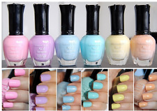 Kleancolor Nail Polish PASTEL Colors Lot of 6 - Lacquer Collection Full Size k25